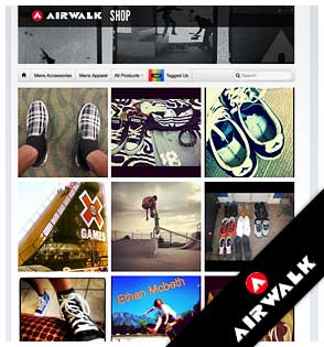 Airwalk Facebook Shop