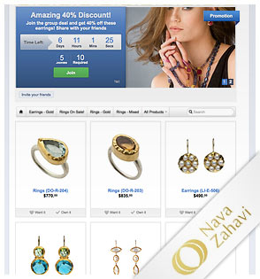 Jewelry Facebook Store