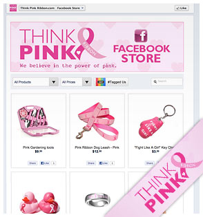 Think pink shop
